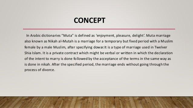 Muta marriage websites