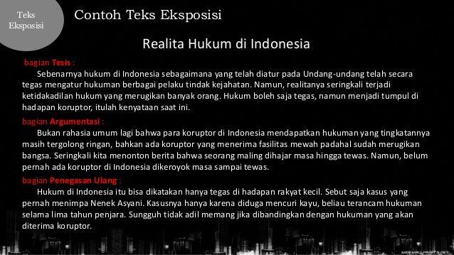 Bahasa Indonesia Kelas X Teks Eksposisi Pengertian Tujuan Ciri B