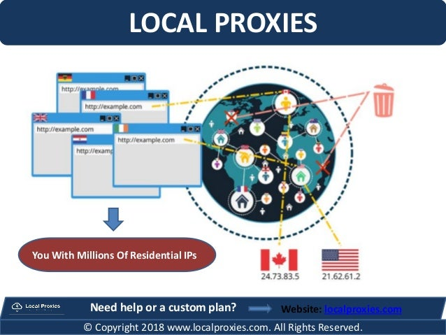 LOCAL PROXIES Website: localproxies.com © Copyright 2018 www.localproxies.com. All Rights Reserved. Need help or a custom ...