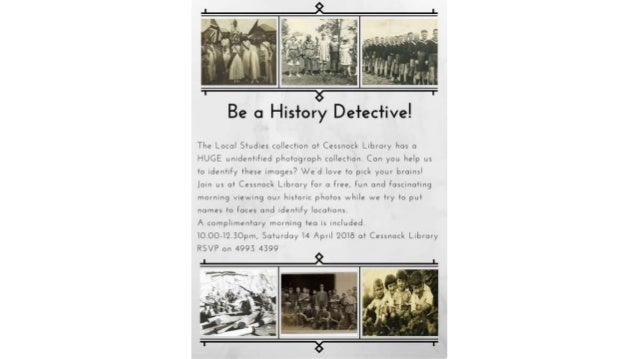 Cessnock Library local studies