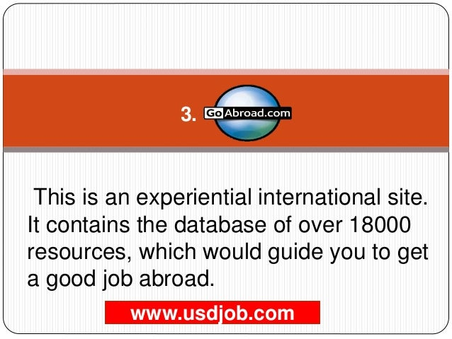 Top 10 India Job Portals to find jobs in Abroad