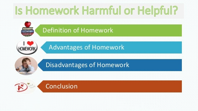 Is homework harmful or helpful to students