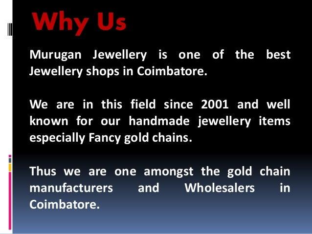 Handmade Gold Jewellery Manufacturers in Coimbatore