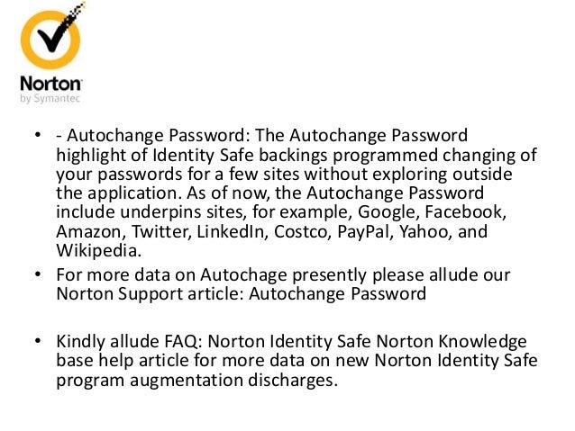 Declaring Norton Identity Safe 5 4 update for Firefox/Chrome/Microsof…