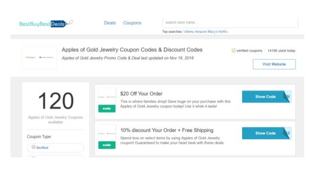 apples of gold coupon
