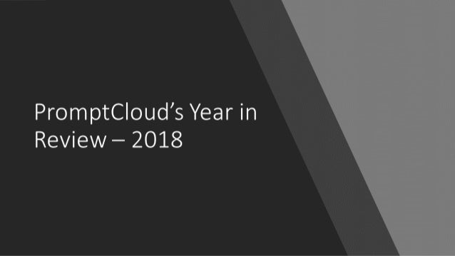 PromptCloud's Year in Review - 2019