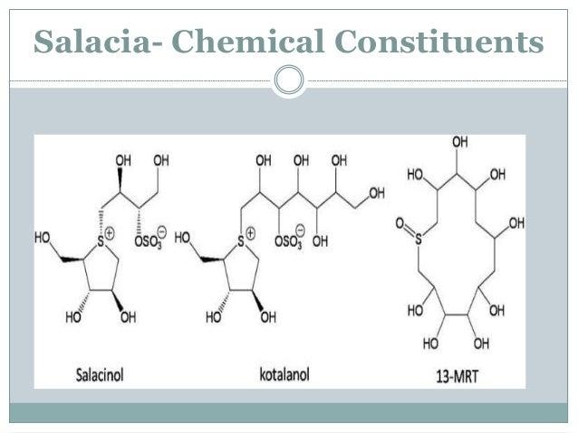 Salacia  Other Uses- As a anti-inflammatory Treatment of asthma Amenorrhea Dysmenorrhea Rheumatism  Side effects- Pain i...