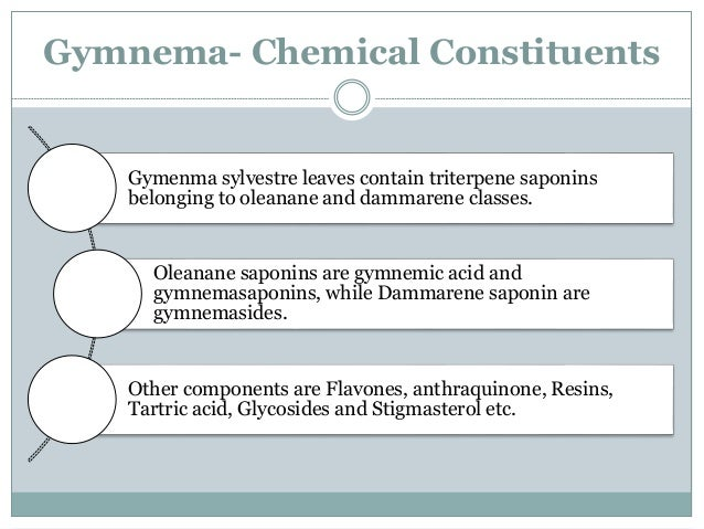 Mechanism Of Action-Gymnemic acid  There are some possible mechanisms by which the leaves and especially Gymnemic acids f...