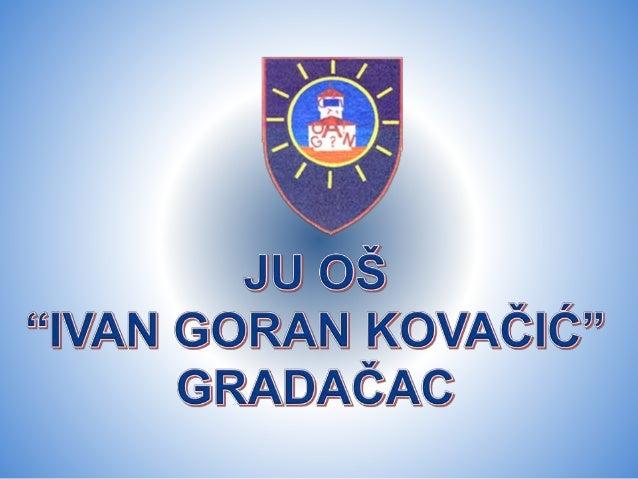 Prezentacija O Skoli Ivan G Kovacic 21 3 2019