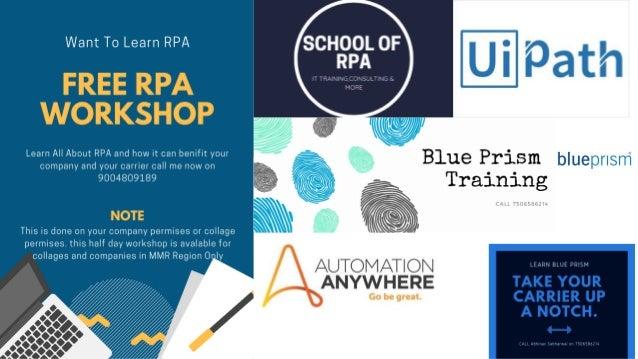 Free RPA Workshop