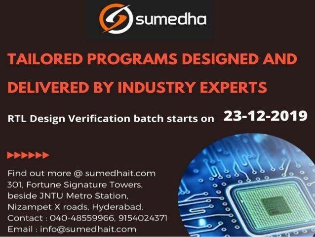 Best Vlsi And Embedded Systems Training Institute In Hyderabad