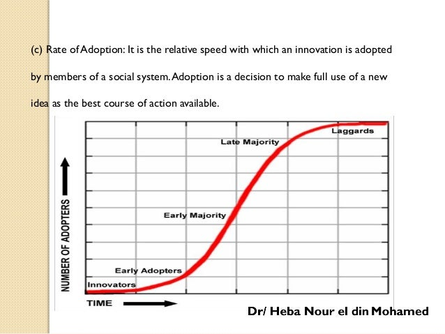 Stages of Adoption : Rogers (1983) has given following five stages of adoption process: .11- Awareness:At this stage an in...