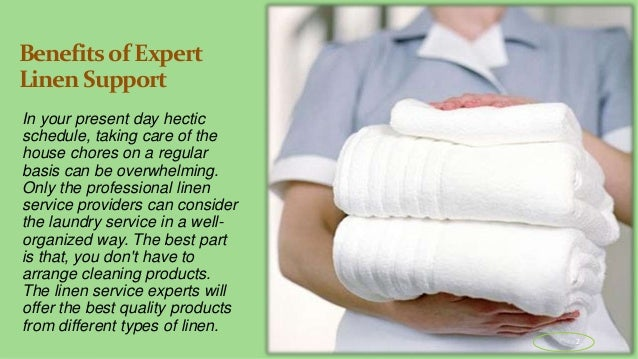 How to Avail Professional Linen Service Near You in Summit County? Slide 2