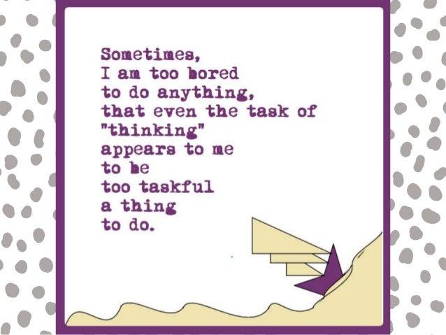 Boredom | Inspirational Poetry by Neha's Notebook Slide 3