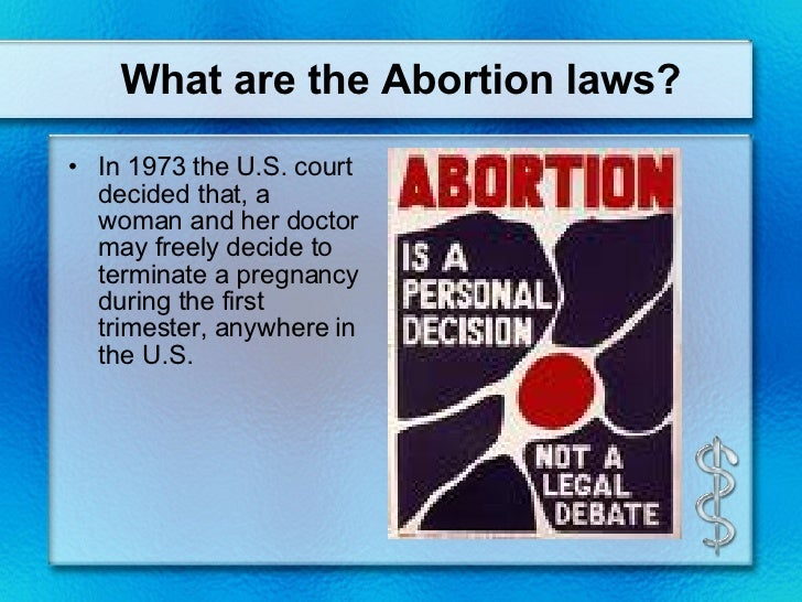 argument that abortion should be permitted in the first trimester The most common early first-trimester medical abortion regimens islamic tradition has traditionally permitted abortion until a arguments presented in.