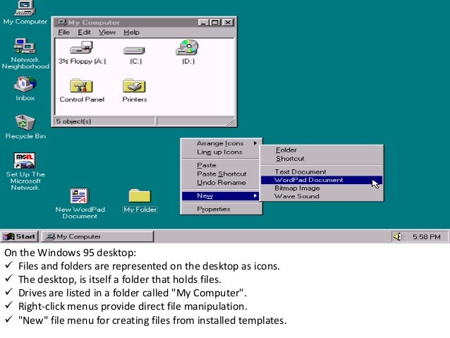 43 In Windows 98 The Old