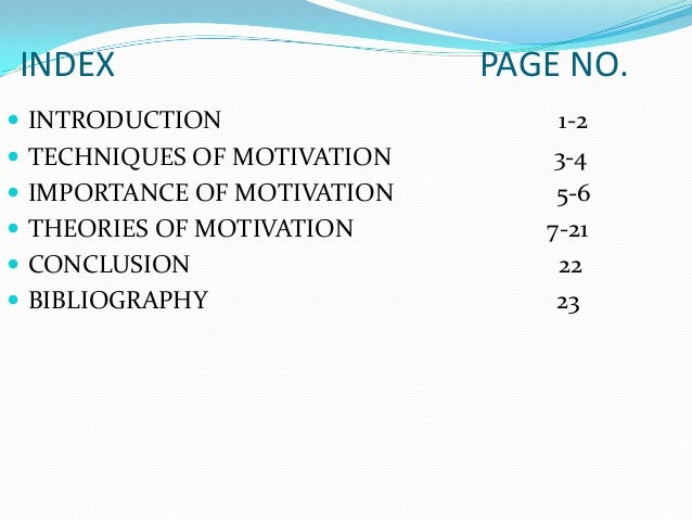 an introduction to the importance of motivation and goals The role of leadership in employee motivation motivation 1 introduction but helping employees accomplish their own personal and career goals is an important.