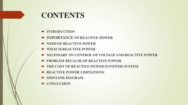Is Reactive Power Useful Importance of Reactive Power