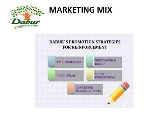 dabur promotion mix Dabur red's value share went up from 64 per cent in january-june 2015, to 78 per cent in january-june 2016 in the six-month period, while cibaca top and colgate max fresh — both colgate-palmolive brands — lost share.