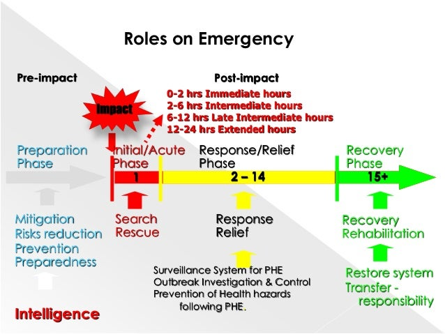 disaster planning and emergency response