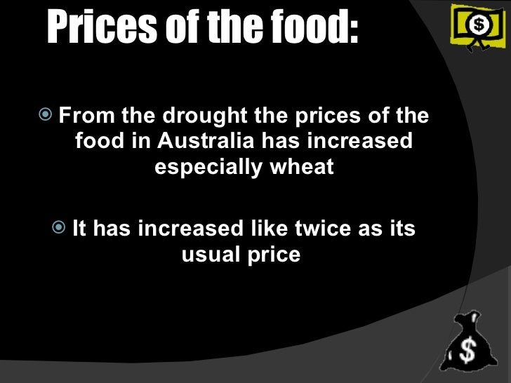 What Causes the Price of Food to Rise?