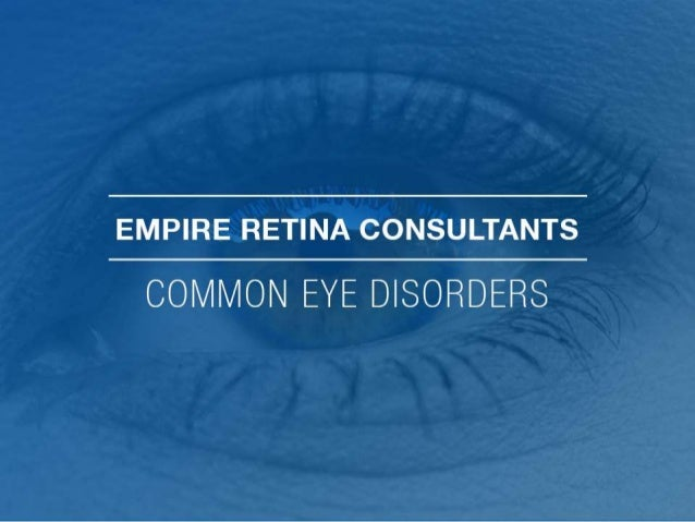 RISING EYE DISEASES IN THE US • The biggest rise is in diabetic retinopathy (89%) and age-related macular degeneration(25%...
