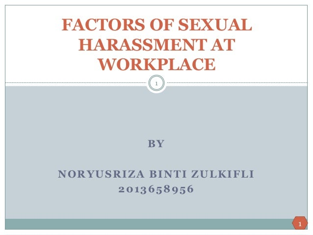 Statistics On Sexual Harassment In The Workplace 2015