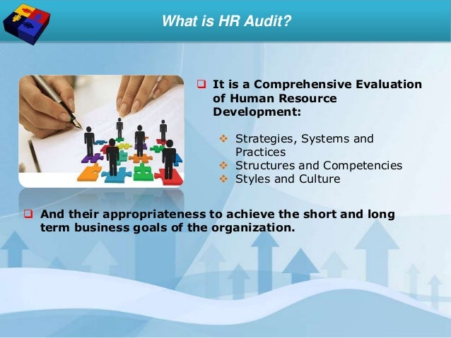 strategy evaluation hr audits You can split your hr audits up into smaller parts by focusing on specific areas at different times of the year, for example looking at compliance in the fall, best practices in winter, strategy in spring, and hr functions in the summer.