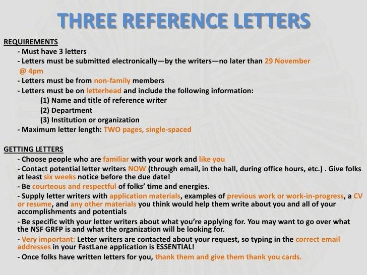 nsf grfp letter of recommendation deadline   Nadi.palmex.co