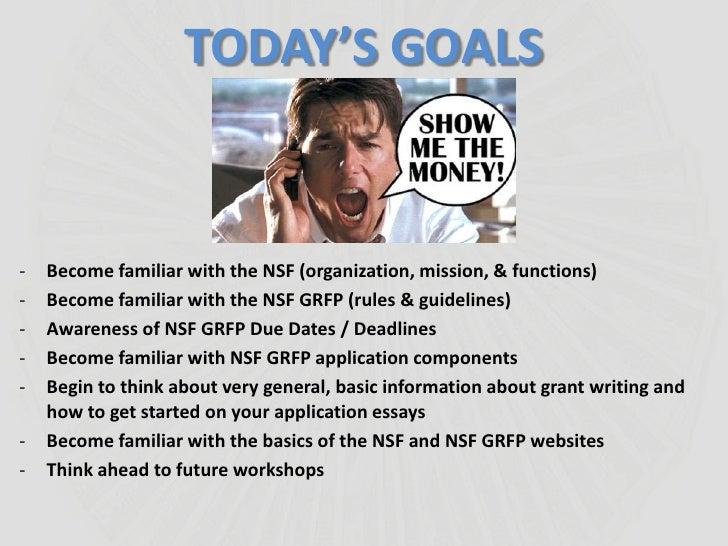 nsf grfp essays