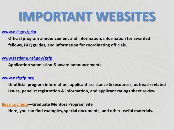 nsf grfp honorable mention benefits