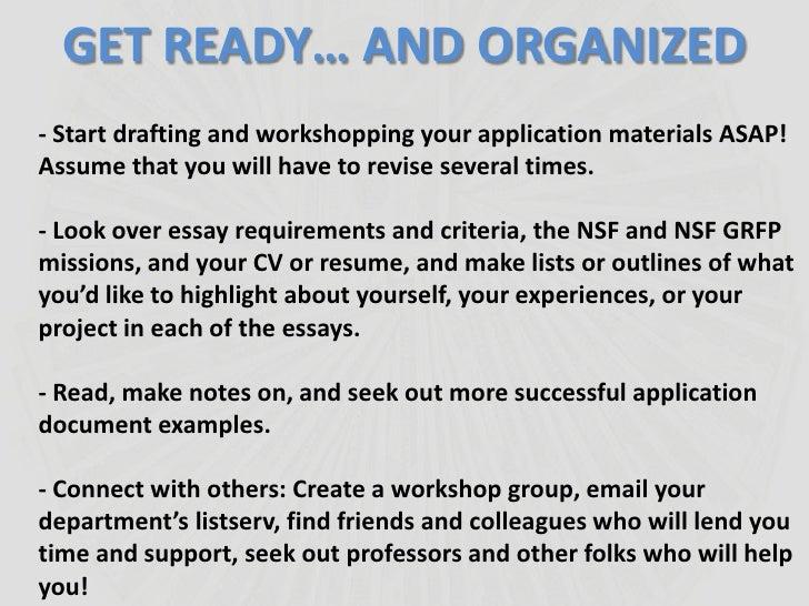 nsf grfp essay instructions