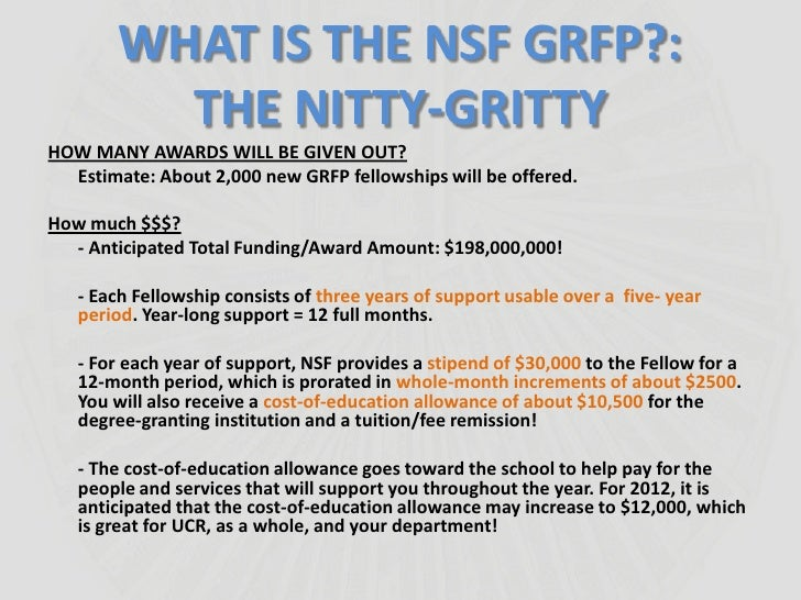 nsf grfp eligibility essay Nsf grfp and other resources on: national science foundation: graduate research fellowship program these are the essays i used for the nsf grfp.