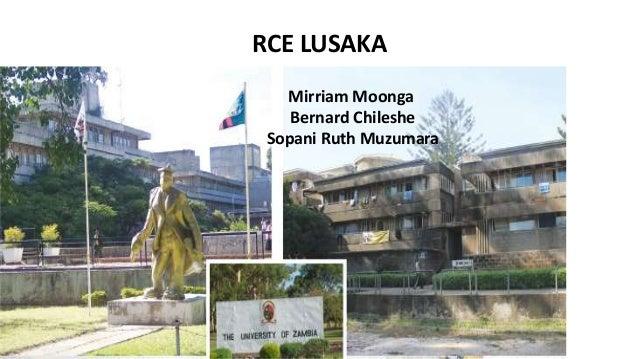 Mirriam Moonga Bernard Chileshe Sopani Ruth Muzumara RCE LUSAKA