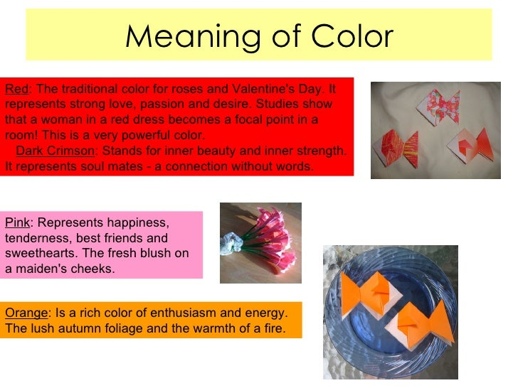 What Does The Color Red Mean emily lebeau's japanese presentation
