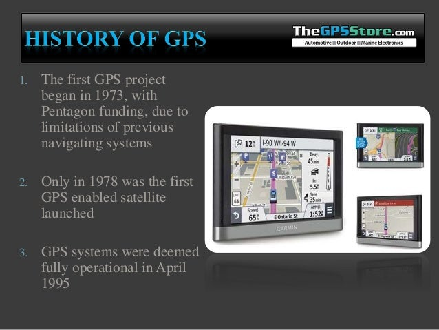Gps Tracking Inception Mechanism And Commercialization