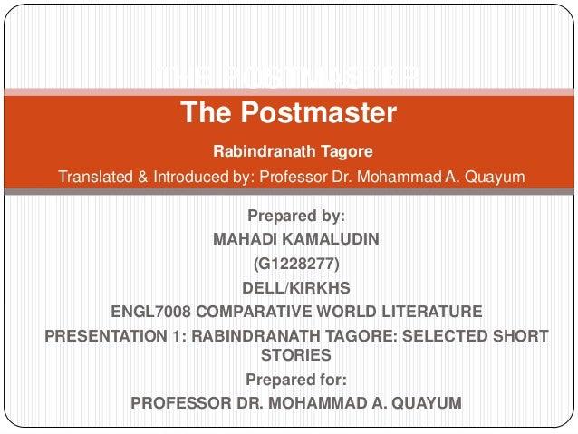 Prepared by: MAHADI KAMALUDIN (G1228277) DELL/KIRKHS ENGL7008 COMPARATIVE WORLD LITERATURE PRESENTATION 1: RABINDRANATH TA...