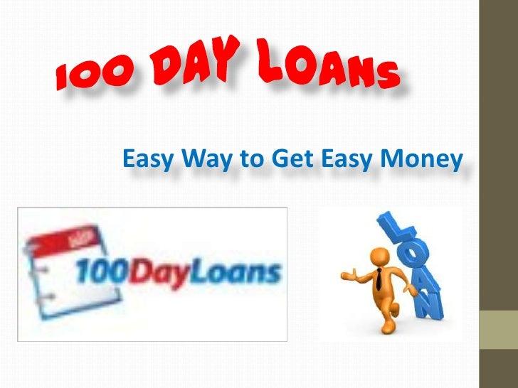 Easy Way to Get Easy Money