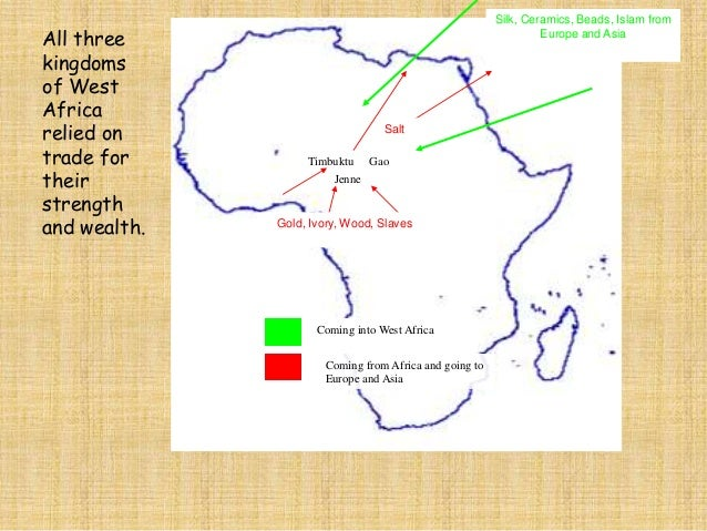 North and West African  Kingdoms Concept Map  What is it?  Kingdoms  Comparisons  How are they alike?  Examples/Comparison...