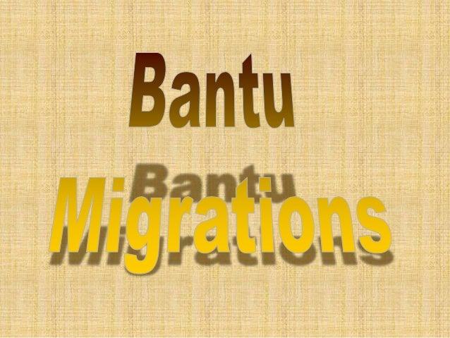 BANTU POLITICAL ORGANIZATIONS  • Stateless societies  – Early Bantu societies did not depend on elaborate bureaucracy  – S...