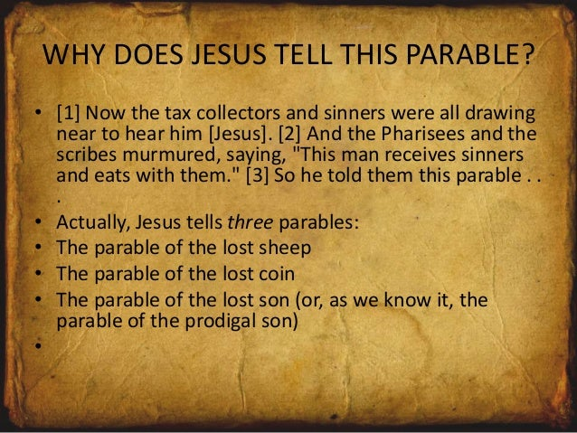 The Parable Of Prodigal Son