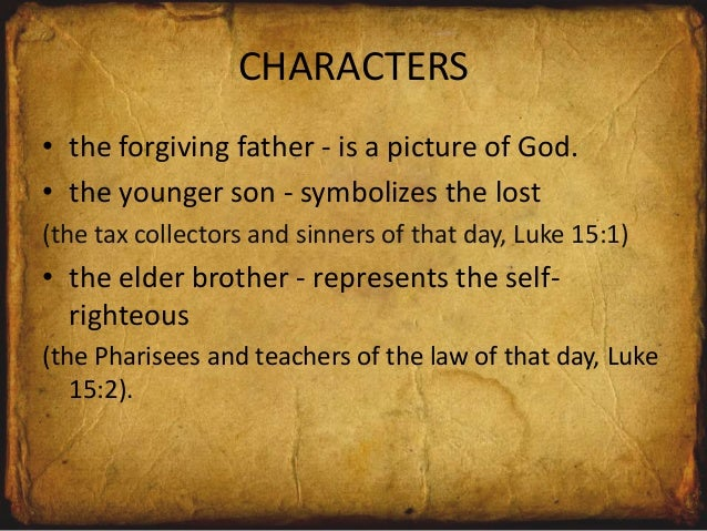 the prodigal son lesson