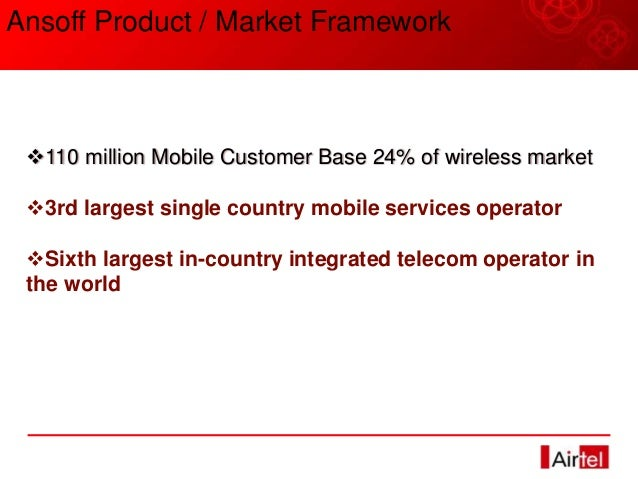 Summer Project Report on Airtel