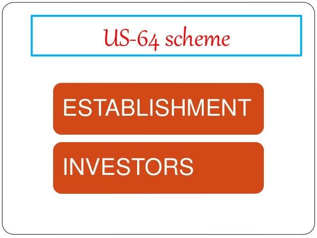Reasons behind US-64 crises Non-declaration of NAV Declaration of high dividend