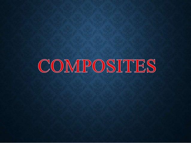 COMPOSITE MATERIALS INTRO (VIDEO)