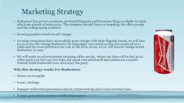 budweiser marketing plan