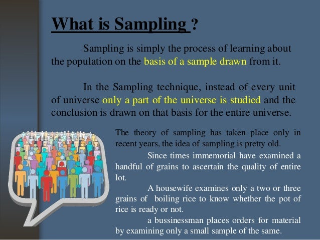 Difference between Census and sampling