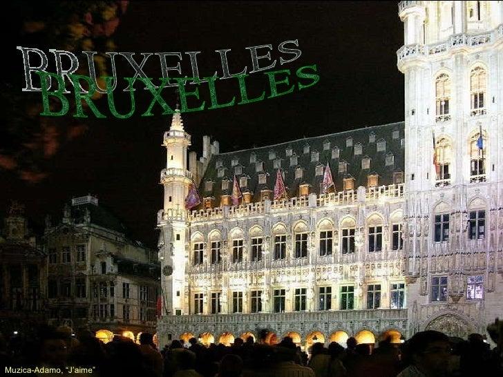 "BRUXELLES Muzica-Adamo,  ""J'aime""  ….."