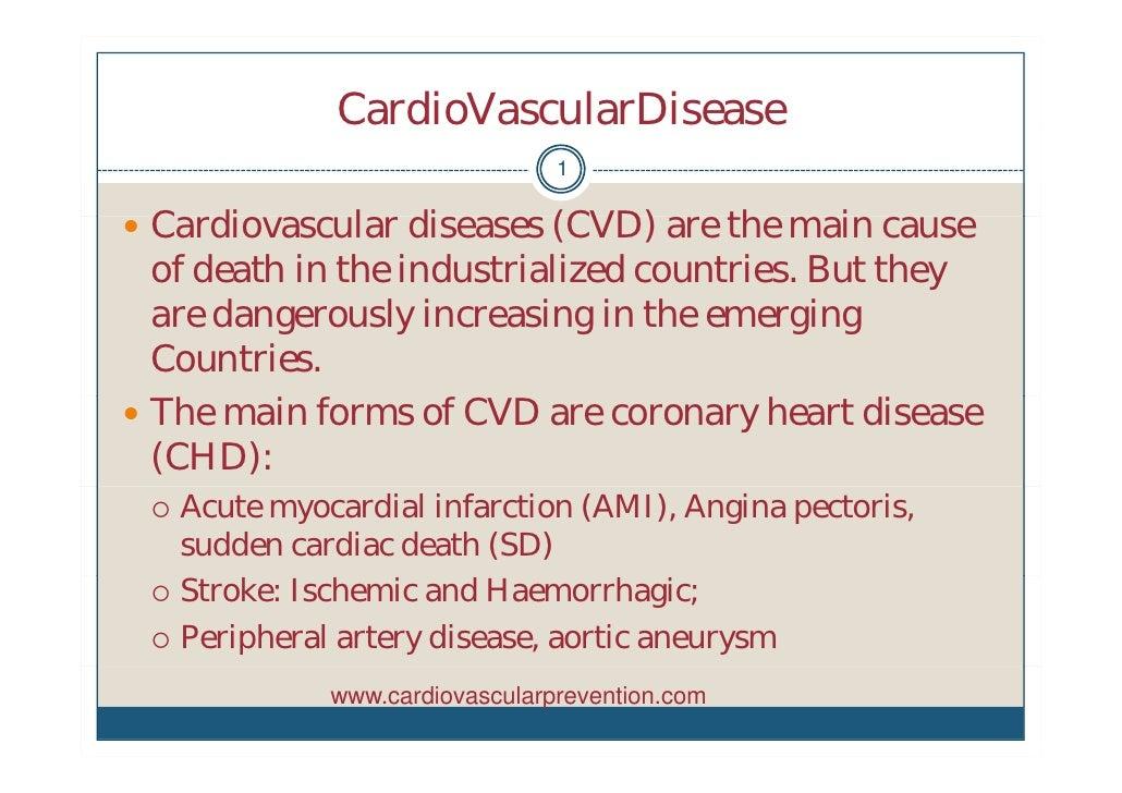 CardioVascularDisease                                 1   C di   Cardiovascular di              l diseases (CVD) are th m...