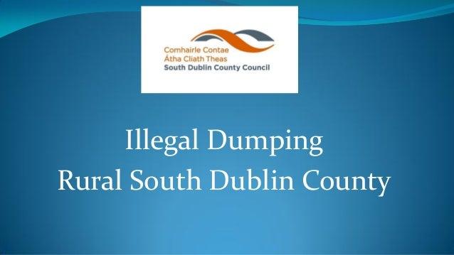 Illegal Dumping Rural South Dublin County